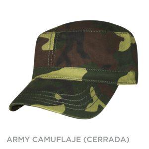 ARMY CAMUFLAJE CERRADA