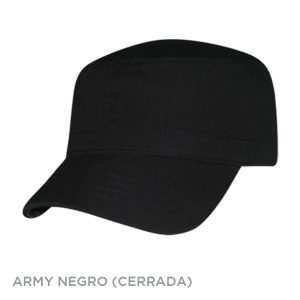 ARMY NEGRO CERRADA