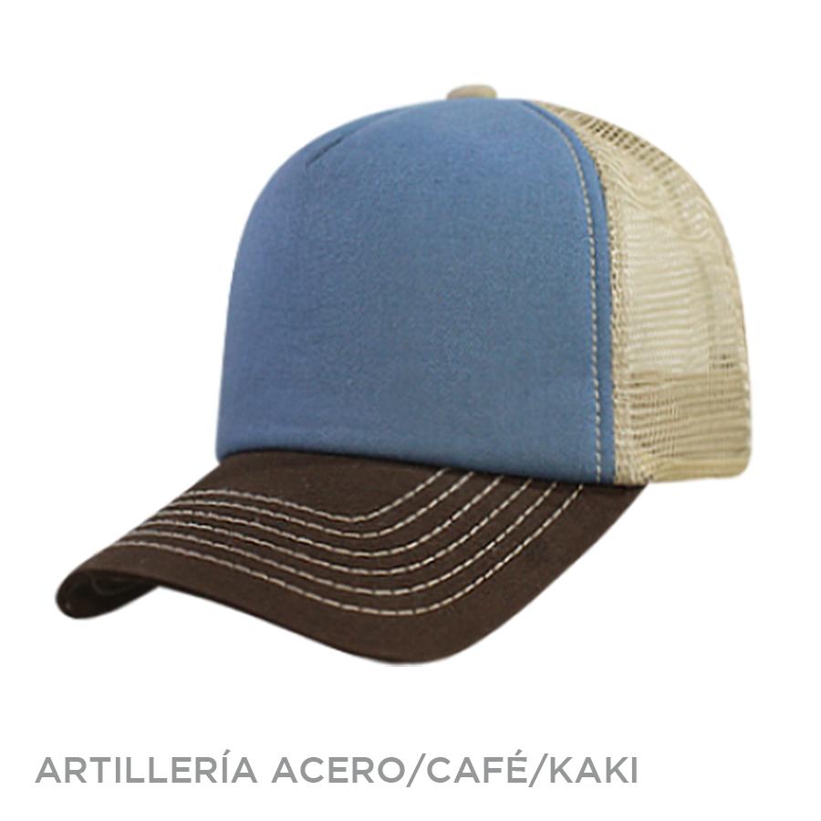 ARTILLERIA ACERO CAFE KAKI