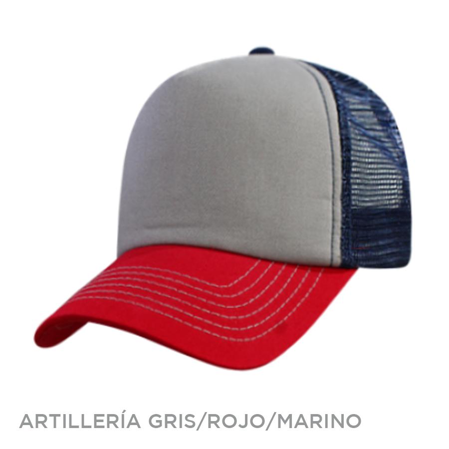 ARTILLERIA GRIS ROJO MARINO