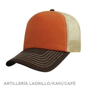 ARTILLERIA LADRILLO KAKI CAFE