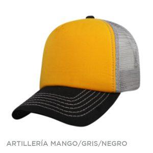 ARTILLERIA MANGO GRIS NEGRO