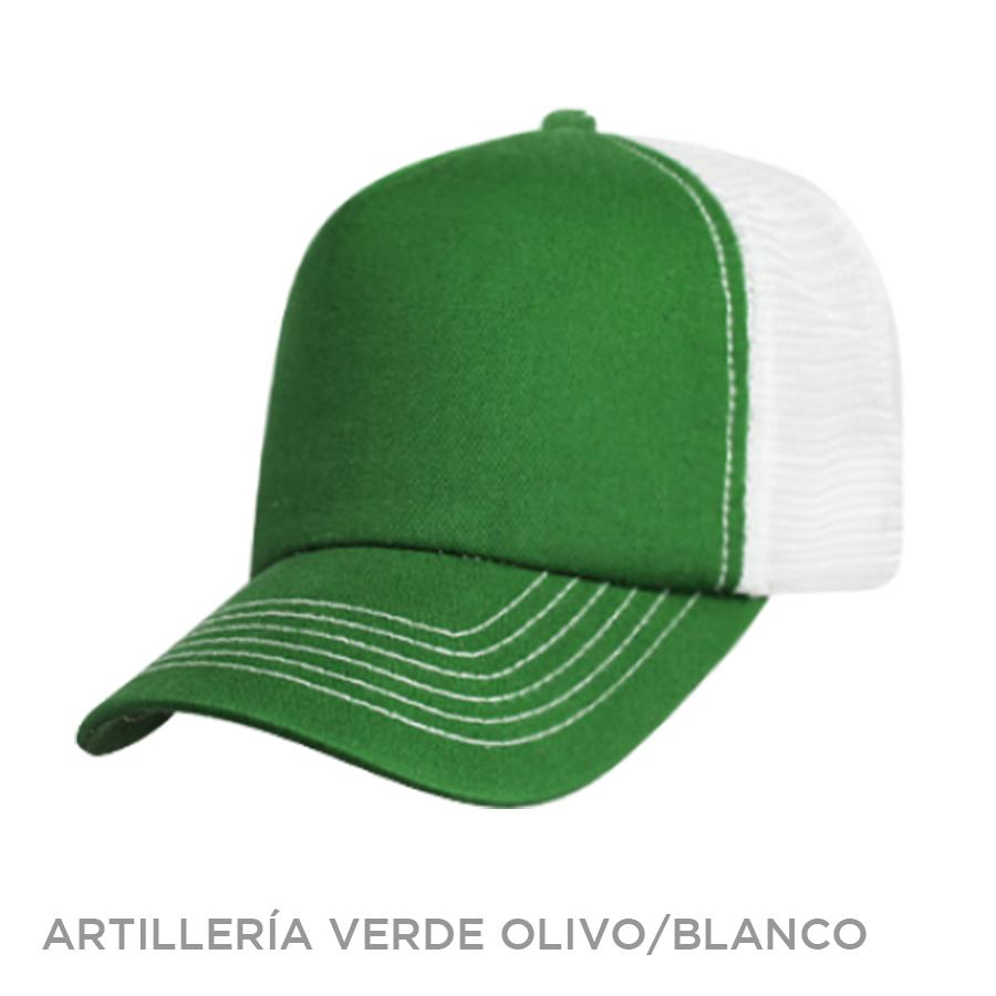 ARTILLERIA VERDE OLIVO BLANCO