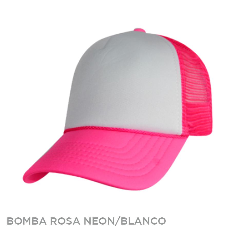 BOMBA ROSA NEON BLANCO