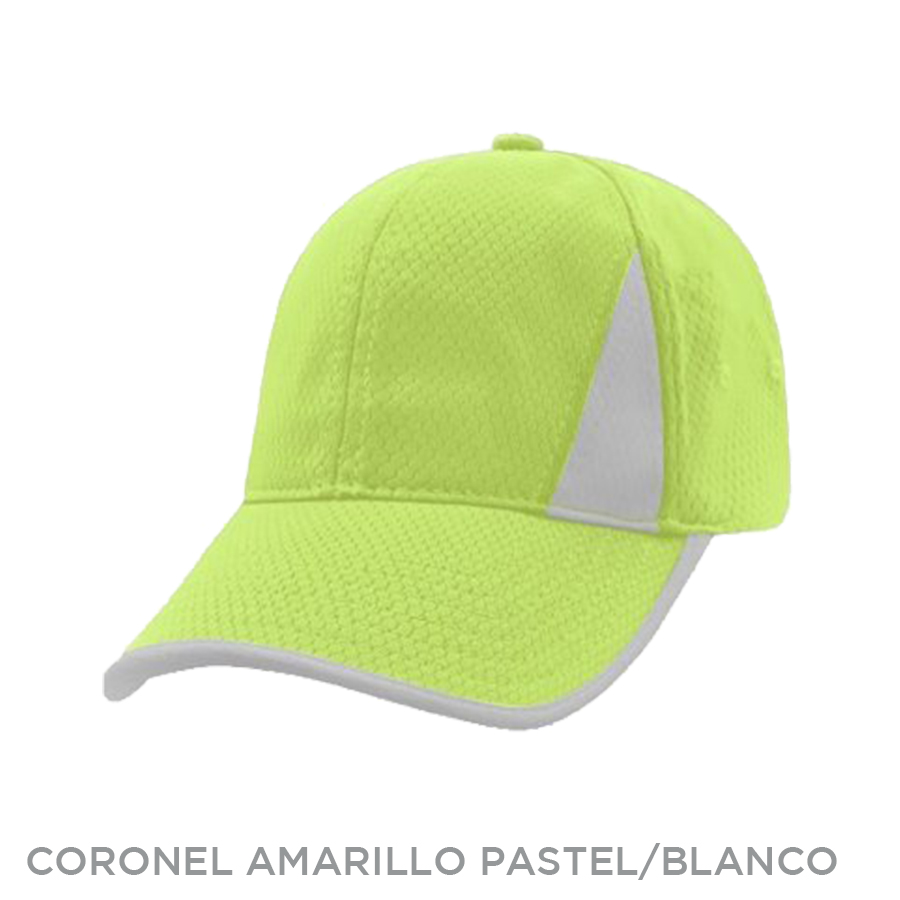 CORONEL AMARILLO PASTEL BLANCO