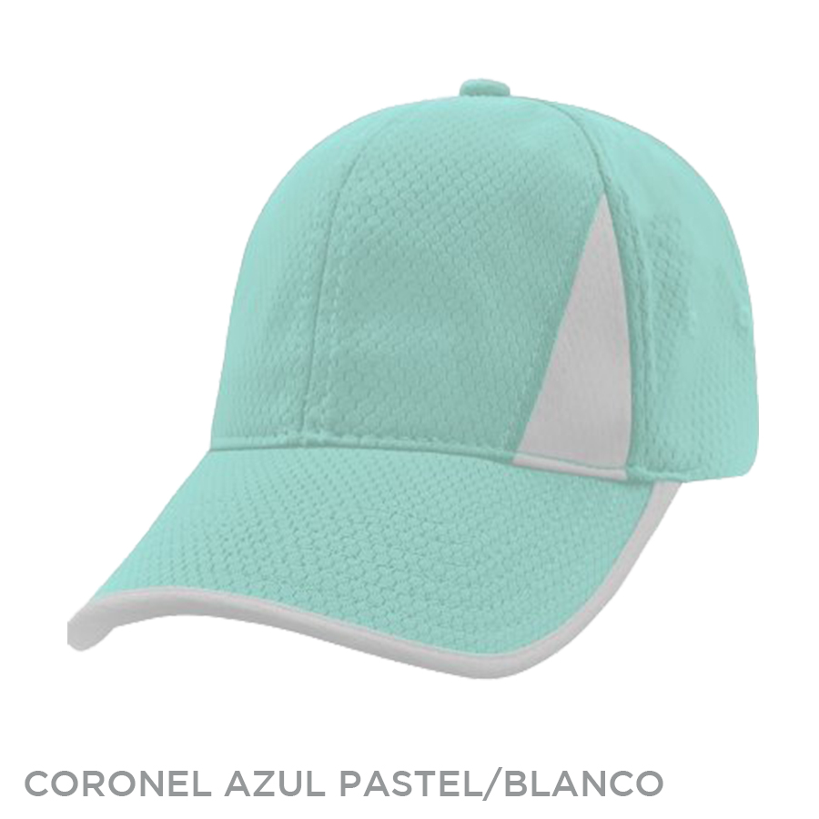 CORONEL AZUL PASTEL BLANCO