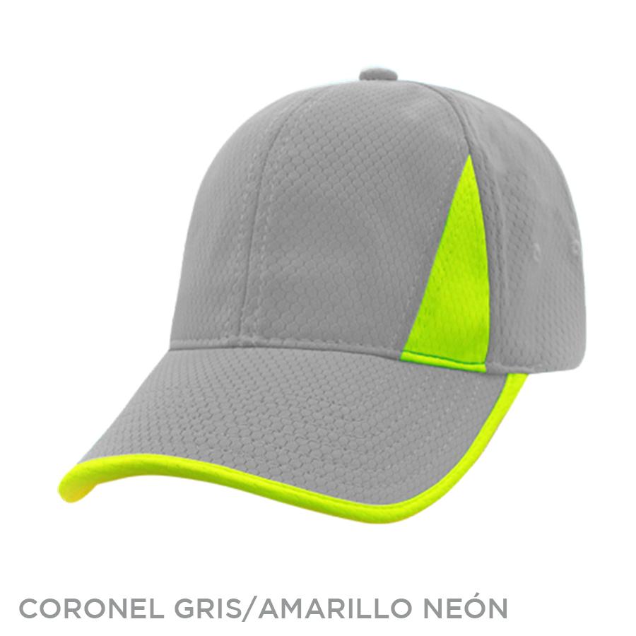 CORONEL GRIS AMARILLO NEON
