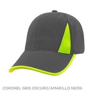 CORONEL GRIS OSC AMARILLO NEON