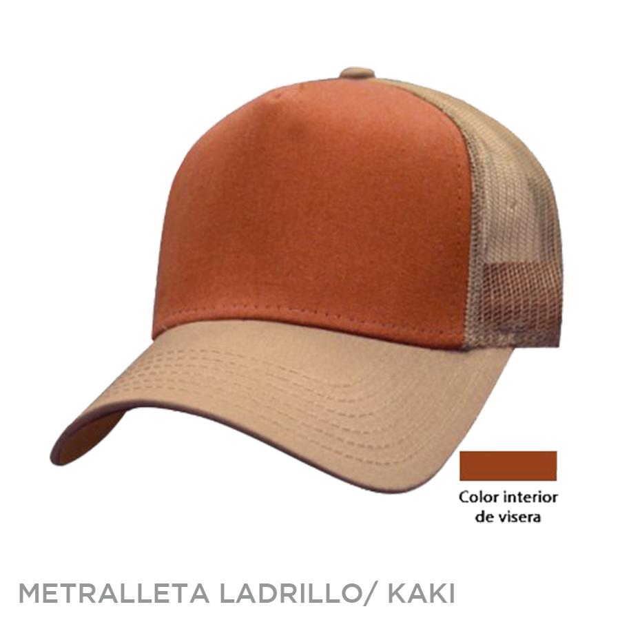 METRALLETA LADRILLO KAKI